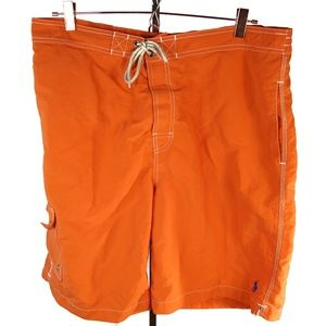 Polo Ralph Lauren Swim Trunks Orange